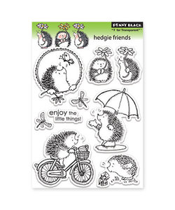 Penny Black Clear stamp Hedgie friends