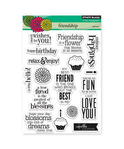 Penny Black Clear stamp Friendship