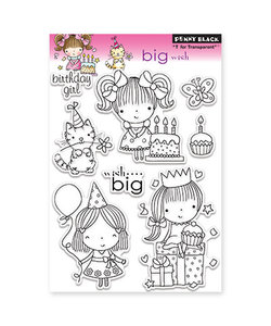 Penny black Clear stamp Big wishes