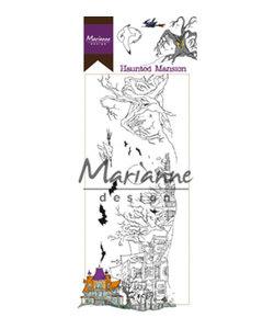 Marianne Design Clear stamp Haunted Mansion