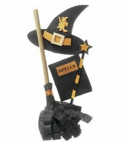 Jolee's stickers Halloween Witch accecoires