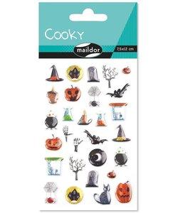 Maildor 3D Sticker Cooky Halloween