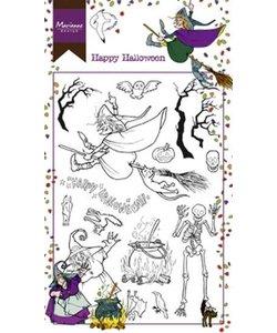 Marianne Design Clear stamp Happy Halloween