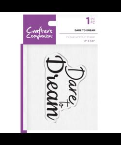Crafter´s Companion Stempel Dare To Dream