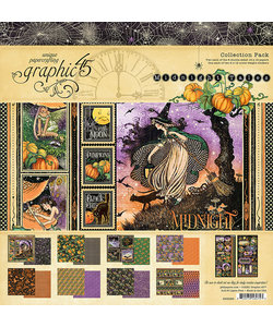 Graphic 45 Midnight Tales Collection Pack 12x12 inch