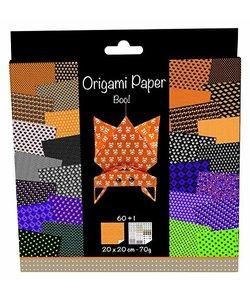 Origami Paper Halloween 61 vel 20x20cm 70gram