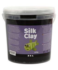 Silk Clay Zwart 650g