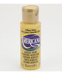 Americana Decor Acryl 59ml Yellow Ochre