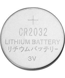 Batterijen CR2032 3V  d:20mm 6 stuks