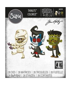 Sizzix Thinlits Die Set Costume Party Colorize 28 Dies