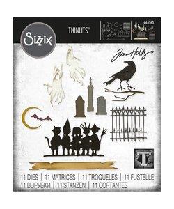 Sizzix Thinlits Die Set Vault Series: Halloween 2021 11 Dies