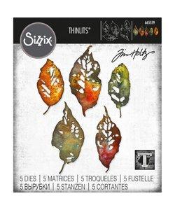 Sizzix Thinlits Die Set Leaf Fragments 5 Dies