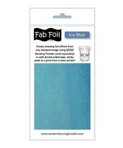Fabulous Foil 10cm.x100cm. Ice Blue