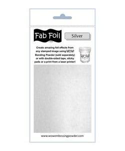 Fabulous Foil 10cm.x100cm. Silver