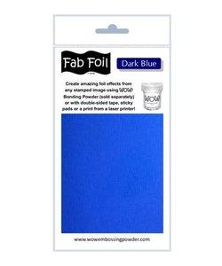Fabulous Foil 10cm.x100cm. Dark Blue