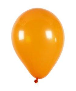 Ballonnen, oranje d:23cm 10 stuks
