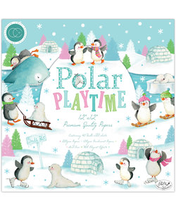 Craft Consortium Polar Playtime 12x12 Inch Paper Pad