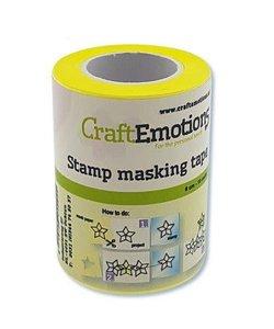 CraftEmotions Stempel Maskeer Tape 6 cm 7,5 meter