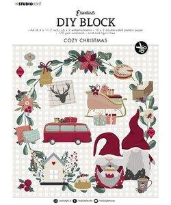 Studio Light  Essentials DIY block A4 Cozy Christmas Nr.14