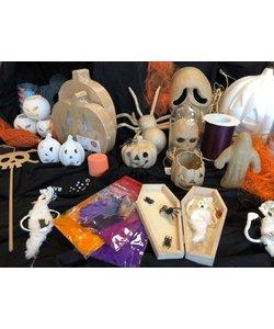 Miniworkshop 20 oktober  15.00 tot 16.30 uur - Halloween is coming