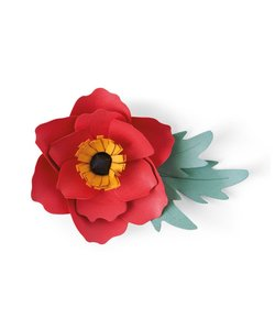 Sizzix Bigz Die Alexix Trimble Anemone Flower