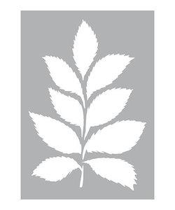 Stencil Sjabloon Bladeren A4