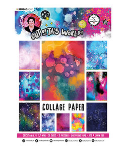 Studio Light Art by Marlene A4 Paper Pad  20 sheets Out of this World nr.14