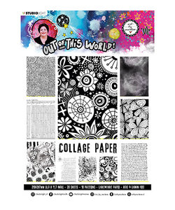 Studio Light Art by Marlene A4 Paper Pad 20 sheets Out of this World nr.15