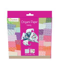 Origami Paper Liberty 61 vel 20x20cm 70gram