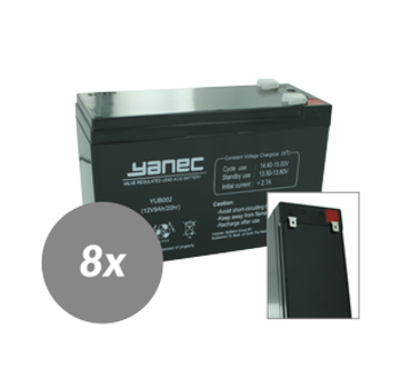 Yanec Yanec UPS Batterij Vervangingsset RBC120 (Excl. Kabels)