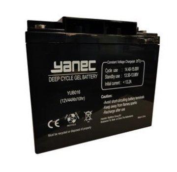 Yanec Yanec Gel Accu 12V 44Ah