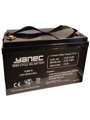 Yanec Yanec Gel Accu 12V 100Ah