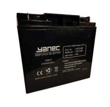 Yanec Yanec Gel Accu 12V 20Ah