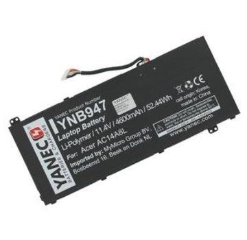 Yanec Laptop Accu 4600 mAh