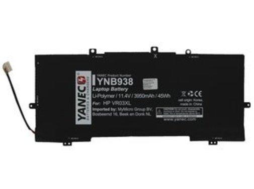 Yanec Yanec Laptop Accu 3900 mAh