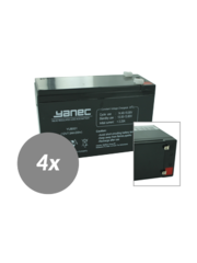 Yanec UPS Batterij Vervangingsset RBC25 (Excl. Kabels)