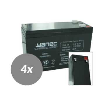 Yanec UPS Batterij Vervangingsset RBC59 (Excl. Kabels)