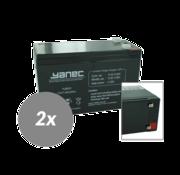 Yanec UPS Batterij Vervangingsset RBC33 (Excl. Kabels)