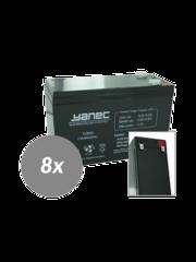 Yanec UPS Batterij Vervangingsset RBC105 (Excl. Kabels)