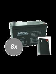 Yanec UPS Batterij Vervangingsset RBC27 (Excl. Kabels)