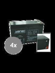 Yanec UPS Batterij Vervangingsset RBC8 (Excl. Kabels)