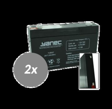 Yanec UPS Batterij Vervangingsset RBC18 (Excl. Kabels)