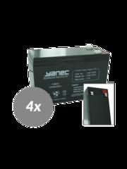 Yanec UPS Batterij Vervangingsset RBC115 (Excl. Kabels)