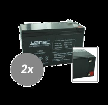 Yanec UPS Batterij Vervangingsset RBC22 (Excl. Kabels)
