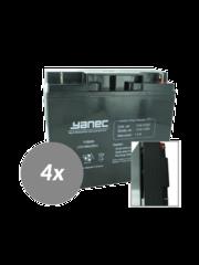 Yanec UPS Batterij Vervangingsset RBC55 (Excl. Kabels)