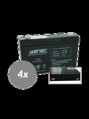Yanec UPS Batterij Vervangingsset RBC34 (Excl. Kabels)