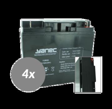 Yanec UPS Batterij Vervangingsset RBC11 (Excl. Kabels)