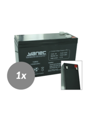 Yanec UPS Batterij Vervanging RBC17 (Excl. Kabels)