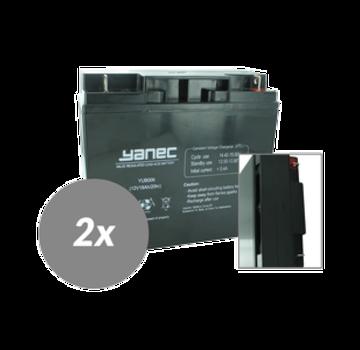 Yanec UPS Batterij Vervangingsset RBC7 (Excl. Kabels)
