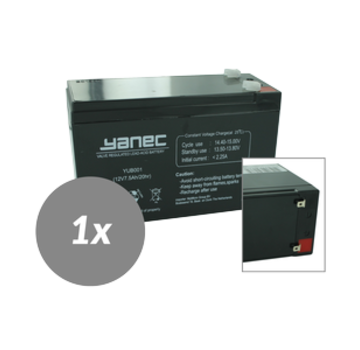 Yanec UPS Batterij Vervangingsset RBC2 (Excl. Kabels)
